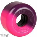 "SIMS ""Street Snake"" 2-Tone Rollerskate wheels 78a PINK/PURPLE x8  Fit Bauer, Supreme, Ventro, etc. Skates Outdoor (1)"